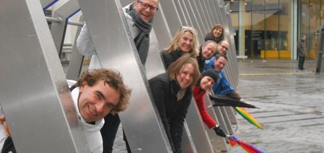 Interactie, creativiteit en genieten tijdens deze citygame, te spelen in alle steden