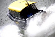 Dropping met de watertaxi