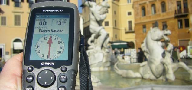 GPS teambuilding Rome citygame